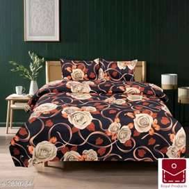 Double Bedsheet + cash on delivery