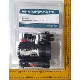 Mini Air Compressor / kompresor pompa angin ban mobil Nankai