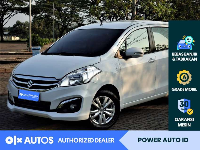 [OLXAutos] Suzuki Ertiga 2017 GX 1.4 Bensin A/T Putih #Power Auto ID