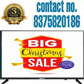"Brand new!! 40"" smart led hdtv in 9999/- up-to 3 yr warranty"