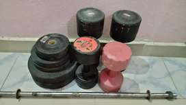 Equipment which helps to keep fit an healthy