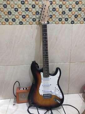 Photogenic guitar stratocaster (japan)