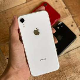 Iphone xr 64gb  second like new termurah