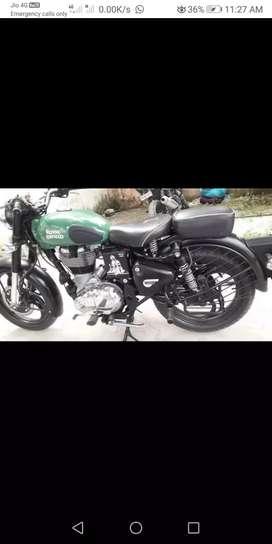 Classic 500cc bike