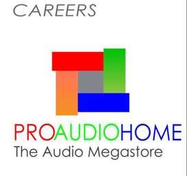 Photoshop Designer for Audio Company