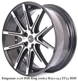 free ongkir KINGSMAN 1218 HSR R20X85 H5X114,3 ET35 BMF