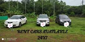 Rent carz available for 24X7