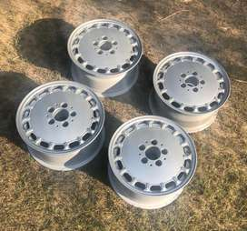 Mercedes Benz W126  S Class Rims, Refurbished to New Condition