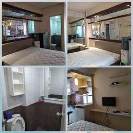 Apartemen type studio Full furnished - Green Pramuka City (Jual/Sewa)