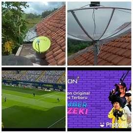 Teknisi pasang parabola mini gratis servis cctv area jonggat