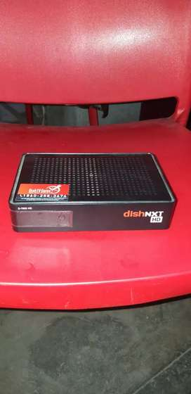Brand new dishtv hd box 7 month old