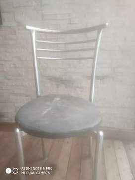Steel Dining chairs of resturant