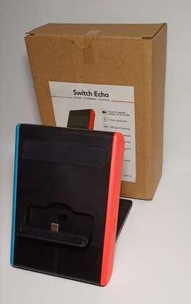 Switch Eco Speaker Powerbank 8.000mAh & Kick Stand Nintendo Switch