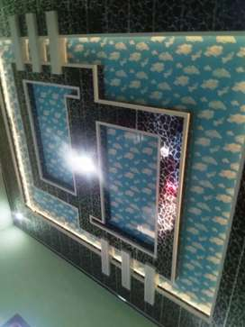 Plafon gypsum dan PVC murah berkualitas