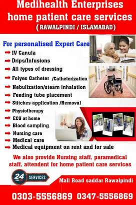 Required medical nursing staff for part time job