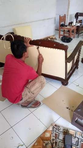 Reparasi sofa kursi