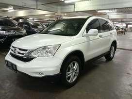 Honda CRV 2010 2.4 A/T Putih Mulus Low KM Pajak Panjang Bagus Sekali