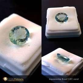 Natural Aquamarine 2.81 Carat