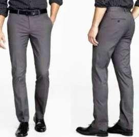 Celana Kerja Kantor Formal Grey/Abu-Abu Muda atau Tua Slim fit/Regular
