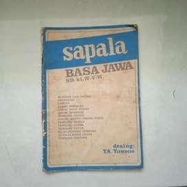 Buku sapala Basa Jawa SD. Kls IV-V-VI