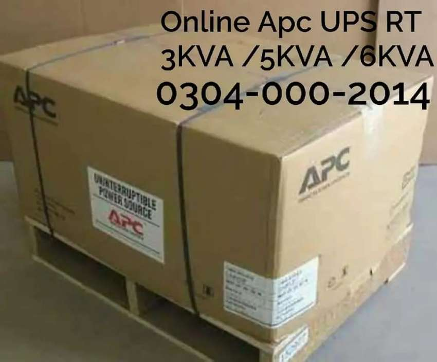 APC Smart UPS 3KVA/5KVA/6KVA T0 10KVA Box Packed 0