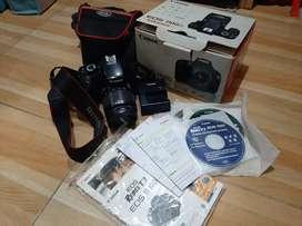 Jual cepat BU Canon EOS 1100D kumplit