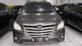 Toyota inova g bensin manual