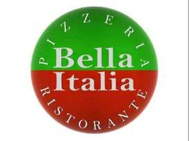 Lowongan kerja sebagai WAITRESS dan STAFF KITCHEN di Bella Italia Rist