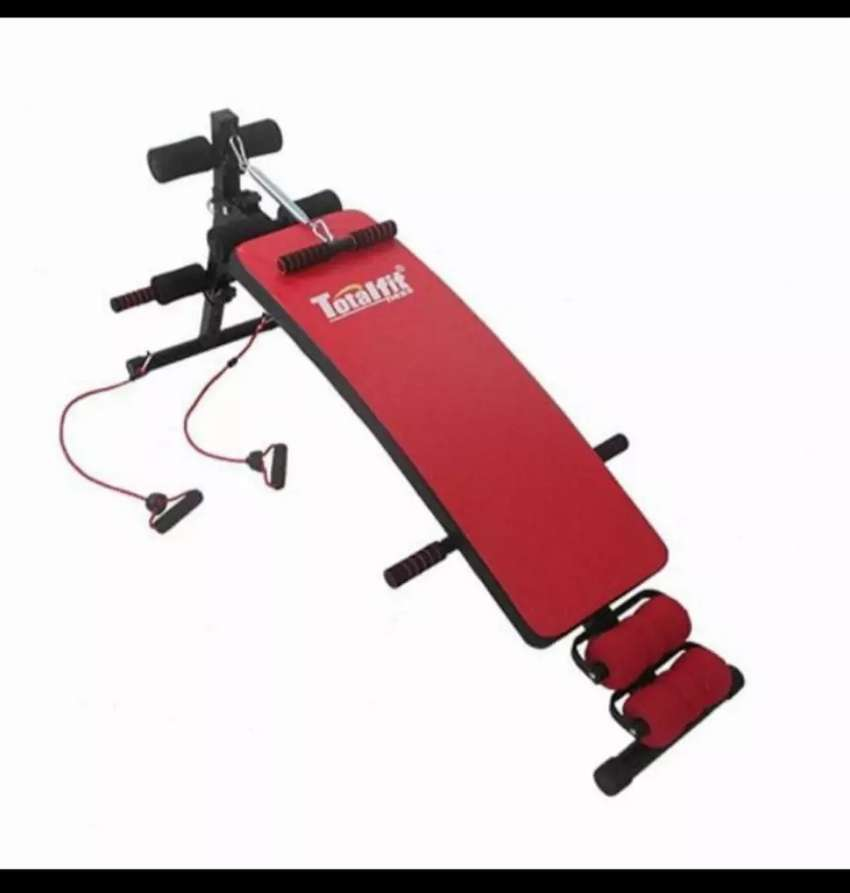 alat fitness sit up bench total 0