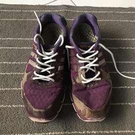 Adidas original Running shoes purple