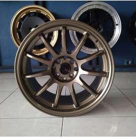 Velg Mobil Avanza, Yaris dll Type DRIFT HSR R17 Semi Matte Bronze
