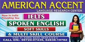 I need a male or female as office asistant and spoken english trainer
