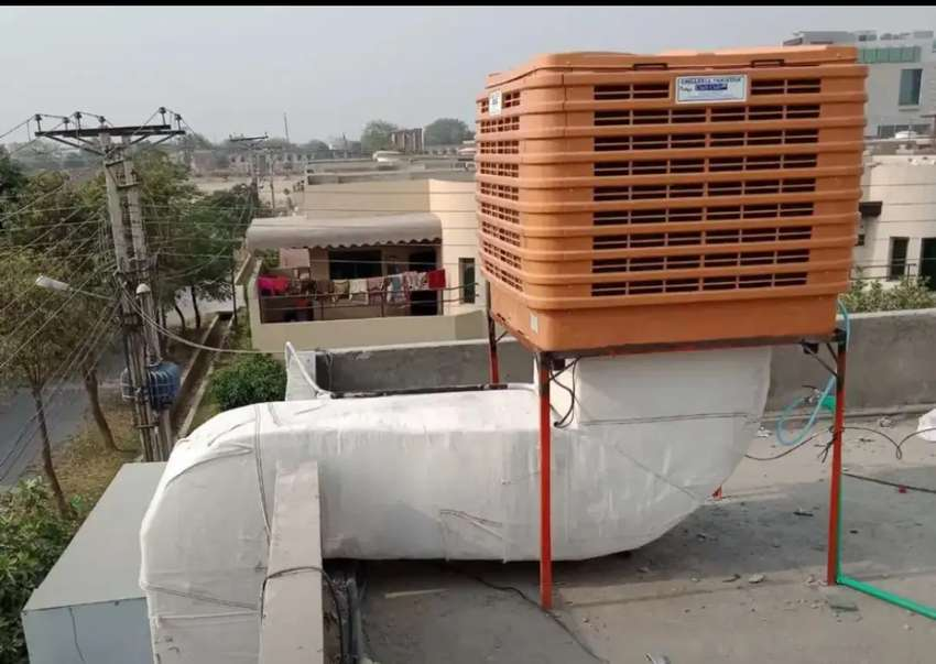 Factory Ventilation System Industrial Air Cooler Evaporating