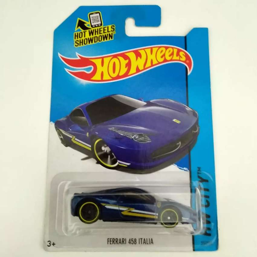 Hot Wheels Ferrari 458 Italia 0