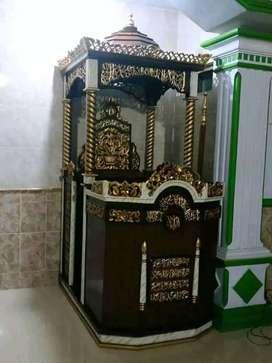 mimbar masjid mihrab harga terjangkau