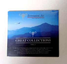 CD ORIGINAL LAGU INDONESIA P BY SRIWIJAYA AIR GREAT COLLECTIONS VOL. 1