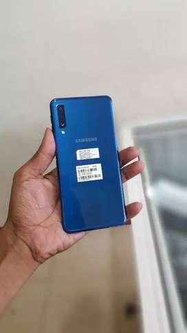Samsung A7 2018 biru