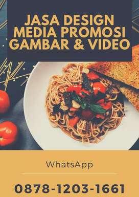 Jasa edit video dan jasa desain promosi