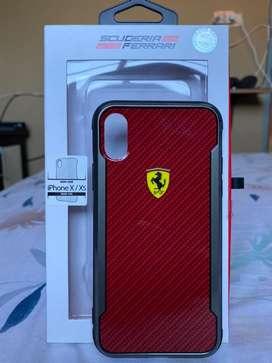 Original Casing Scuderia Ferrari For Iphone X / Xs