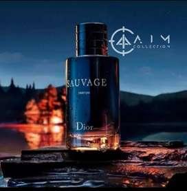 Parfum import pria Sauvage dior impor murah elegan wangi kotak segel