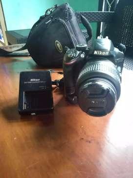 Kamera DSLR Nikon D3200 VR kit 18-55mm