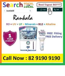 Rankala AquaGrand RO Water Purifier Water Filter AC dth bed car TV Aqu