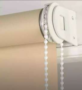 Sunlight Heat Protection Pvc Roller Blinds