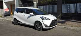 Toyota Sienta V 2017 Manual Tgn1 Putih km 35 rb record A 2000 Antik