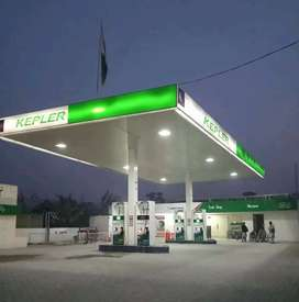 Runing petrol pump for sale