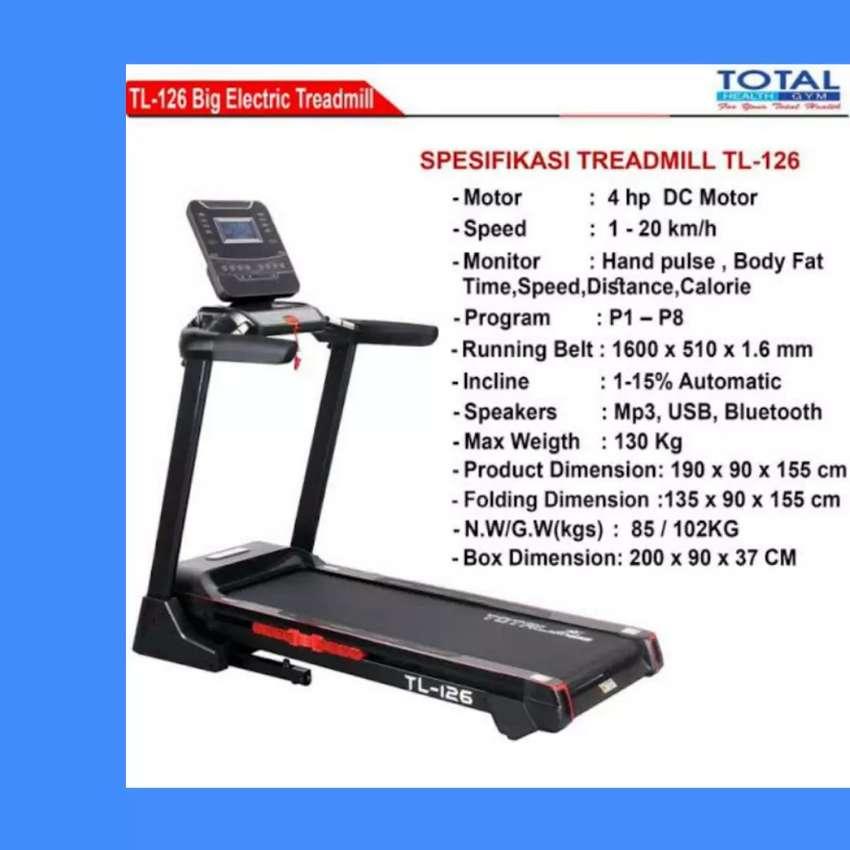 gratis ongkir treadmill treadmill elektrik incline TL-126 D-76