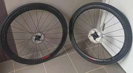 wheel set carbon  disc merk ECC 40mm made in taiwan