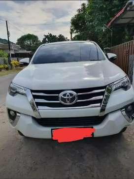 Toyota Fortuner Tahun 2017 tipe vrz
