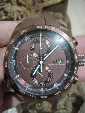 Jam forsche design.mulus sekali.crono hidup semua.