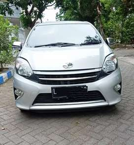 Toyota Agya 1.0 G MT / Manual 2014 Silver kilometer 29 ribu